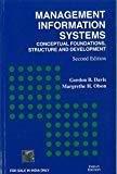 Management Information System Conceptual Foundations - Structure and Development by Gordon Davis