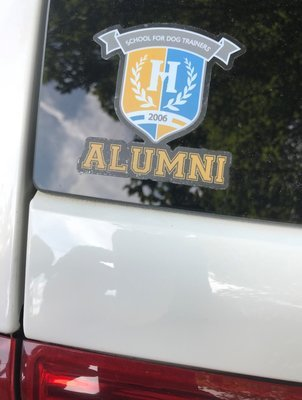 Alumni Auto Sticker - School for Dog Trainers