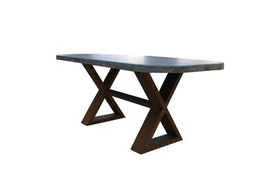 6' Concrete Dining Table
