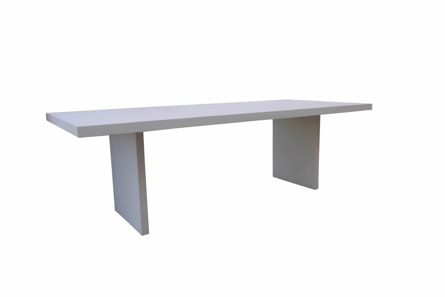 White 8'  Conference Table