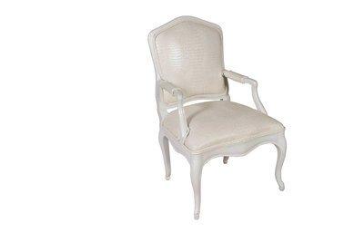White Louie Chair