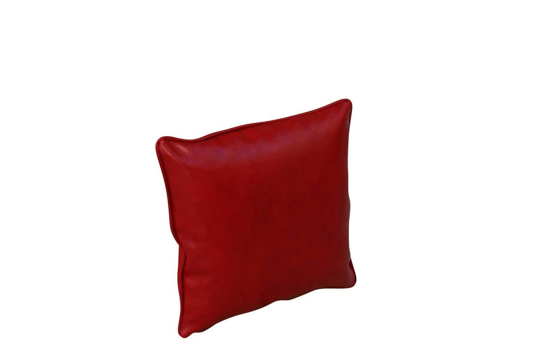 Pillow-Red Snakeskin
