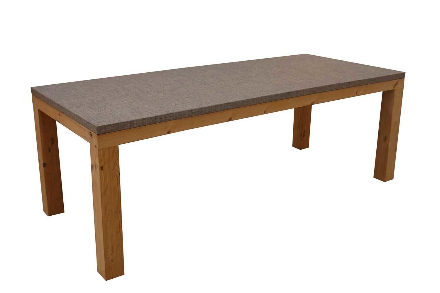 Dining Table With Thermory Pine