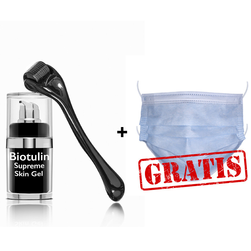 Biotulin Supreme Skin Gel (15ml*) & SkinRoller