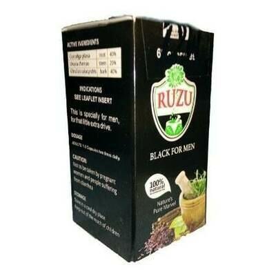 Ruzu black for men capsules  X 2
