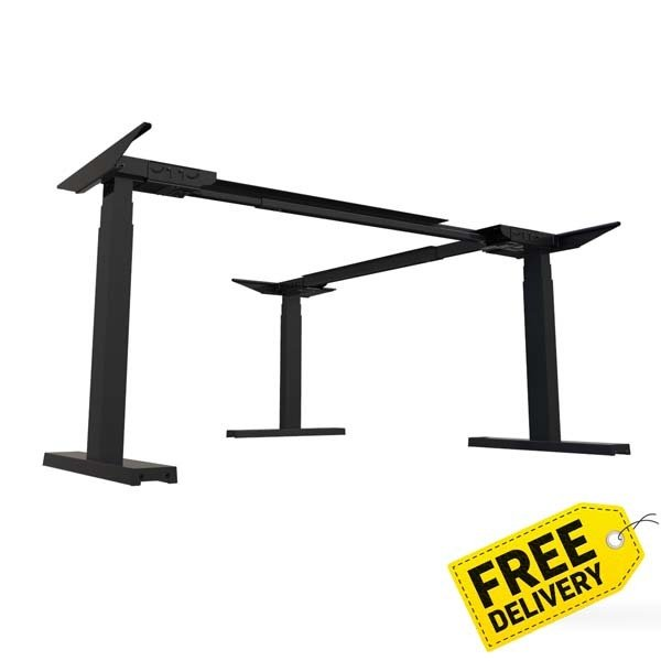 Activ Expandable L-Shape Kit   Electric Sit Stand Frame Only