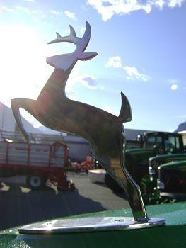 Kühlerfiguren für John Deere Traktoren