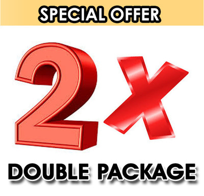 Double Package Special Offer.