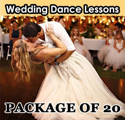 Wedding Dance Lesson. Package of 20