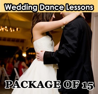 Wedding Dance Lesson. Package of 15