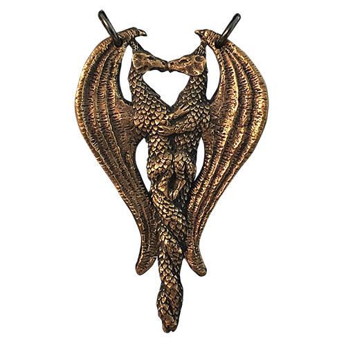 Mating Dragons Pendant