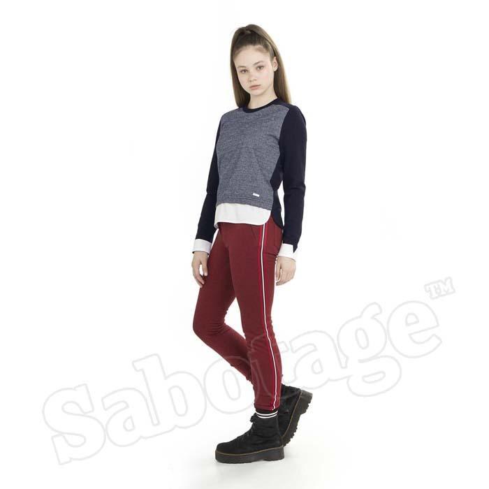 Джемпер-обманка для девочки YGSB106-42