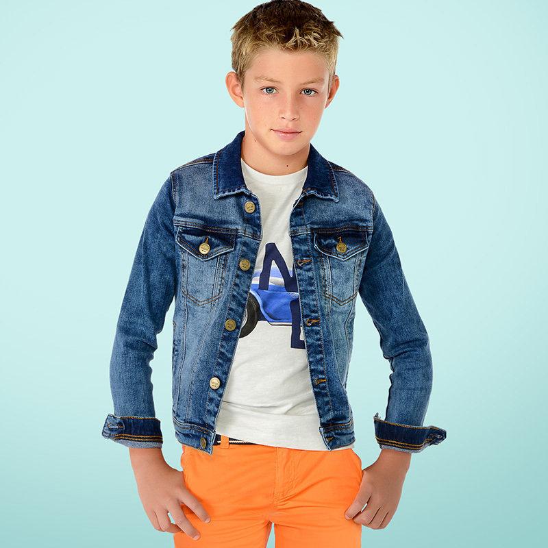 Куртка джинсовая для мальчика YSMR6454-5