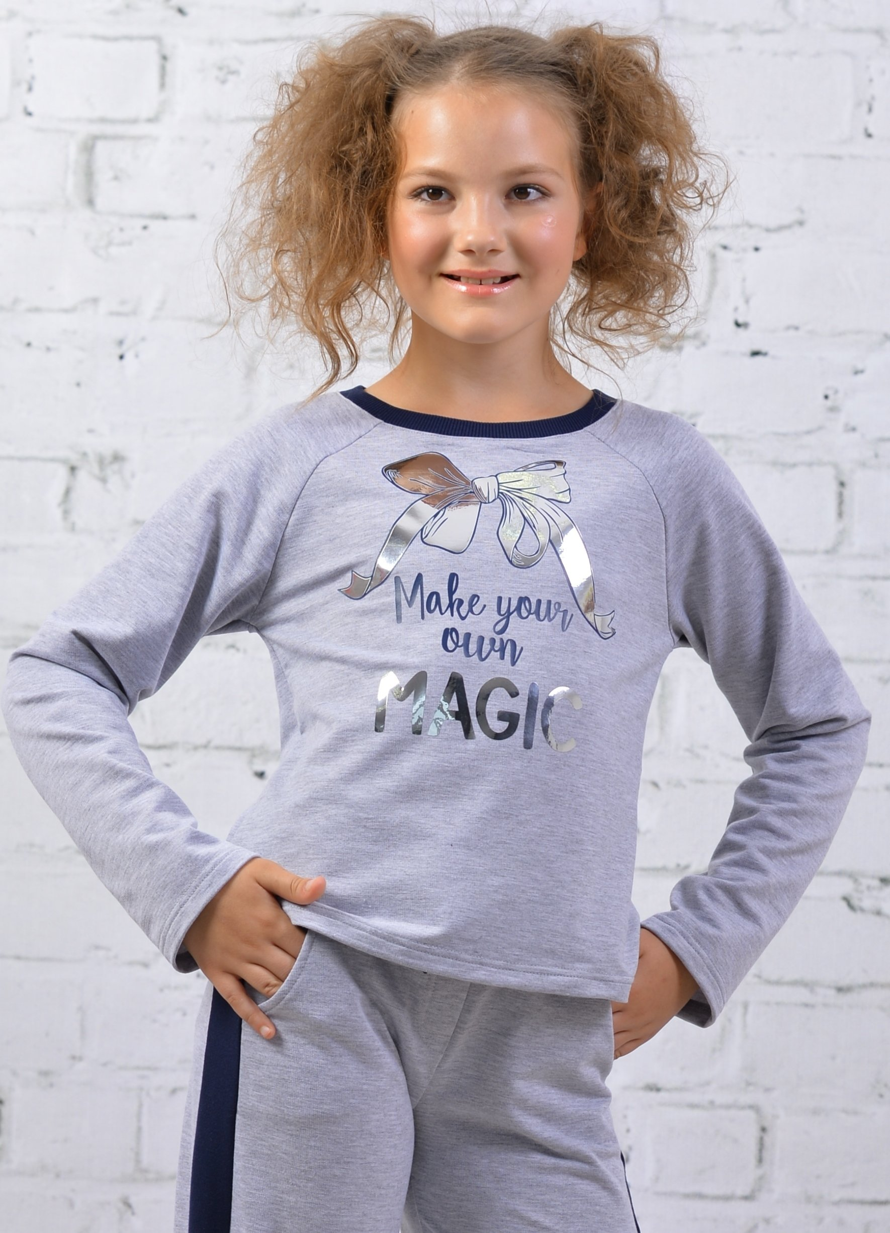 Джемпер для девочки DSDT113A