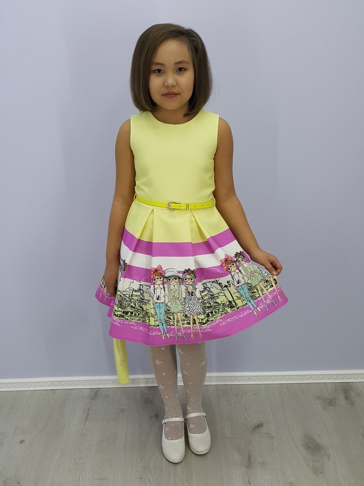 Платье для девочки Лия ALLMN41-15
