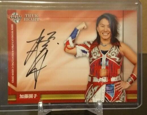 Sonoko Kato 2015 BBM Joshi True Heart Autograph /100