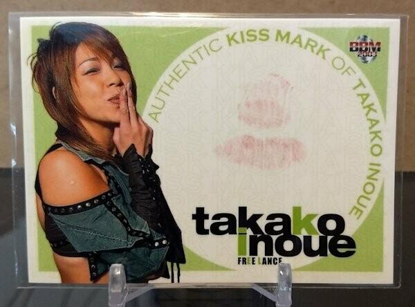 Takako Inoue 2003 BBM Joshi True Heart Kiss Card /230