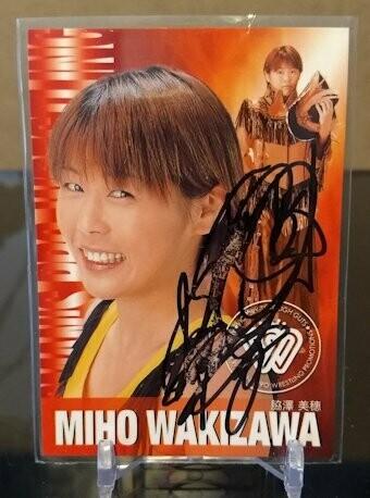Miho Wakizawa 2001 Future Bee Autograph
