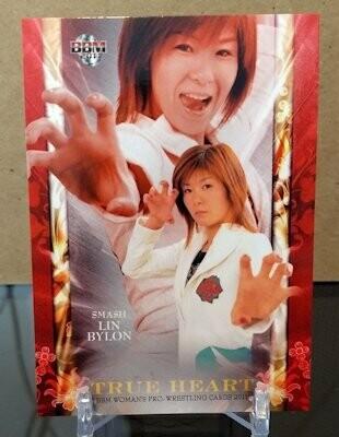 Lin Byron 2011 BBM Joshi True Heart Base Card