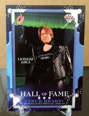 Lioness Asuka 2011 BBM Joshi True Heart Base Card