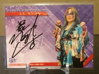 Miss Mongol 2020 BBM Joshi True Heart Autograph /100