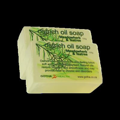 Ostrich Oil Soap Herbal