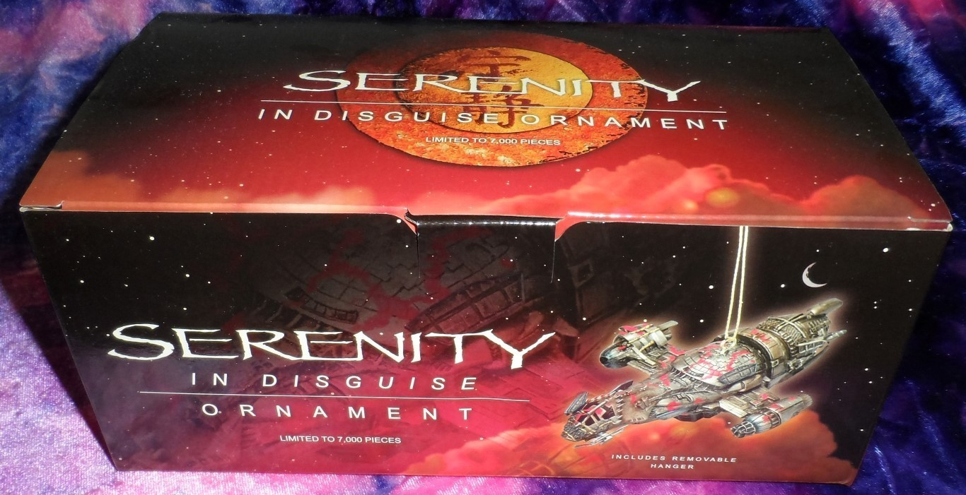 Firefly/Serenity Ornament -Serenity in Disguise Variant