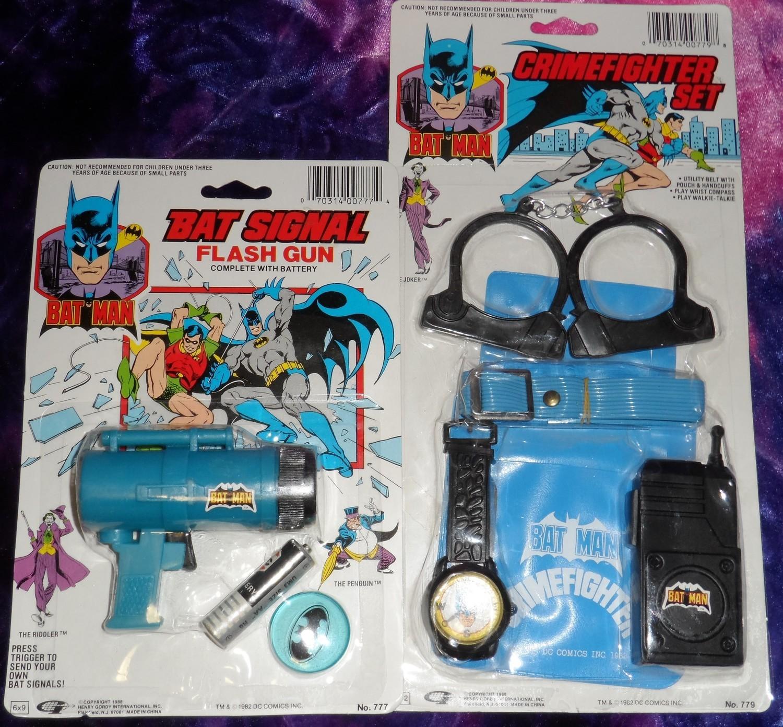 Batman Toy Sets 1988