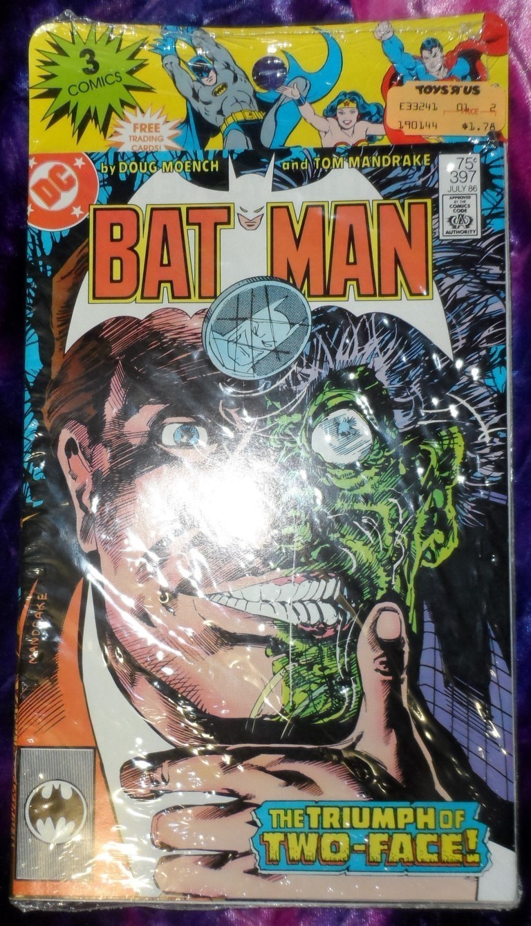 Batman Comics 3 pack 1986
