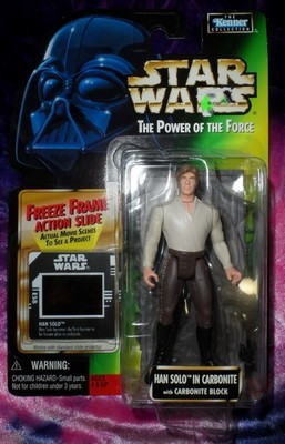 Star Wars - Han Solo in Carbonite Action Figure