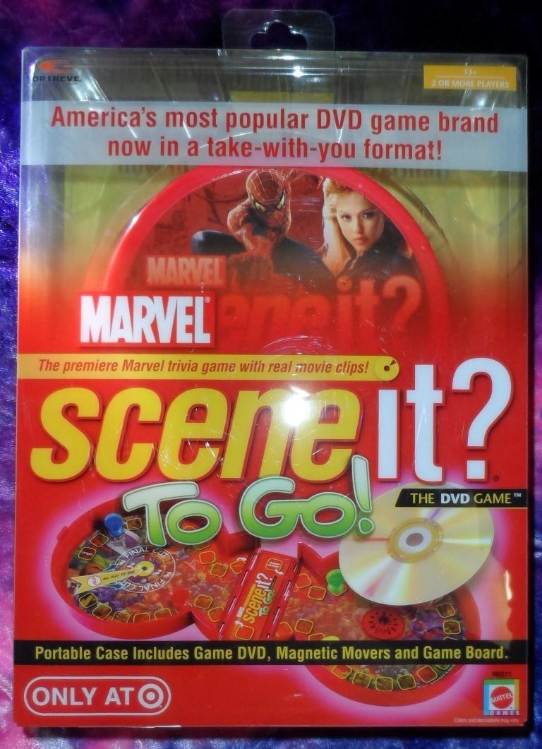 Marvel Scene it? To Go!