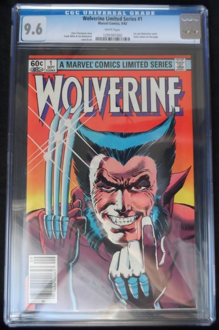 CGC 9.6 Wolverine #1 (Sept 1982)