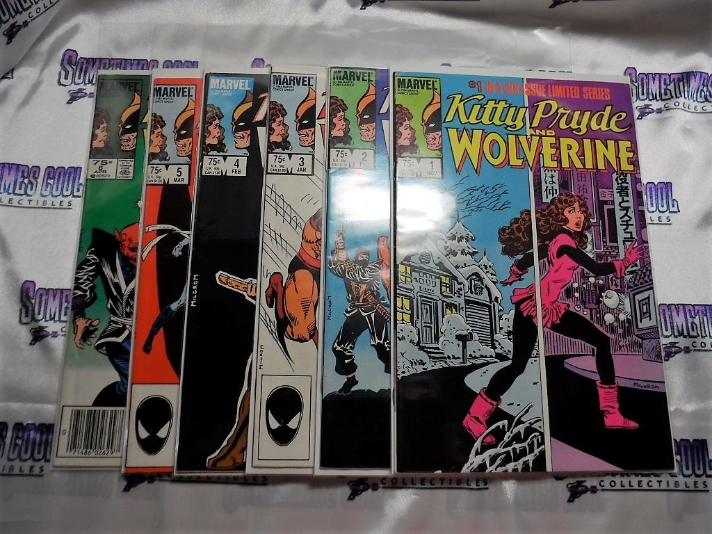 Kitty Pryde & Wolverine Comic Book Set