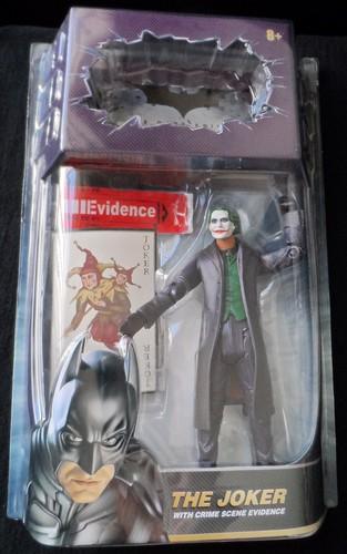 The Joker w/ Crime Scene Evidence