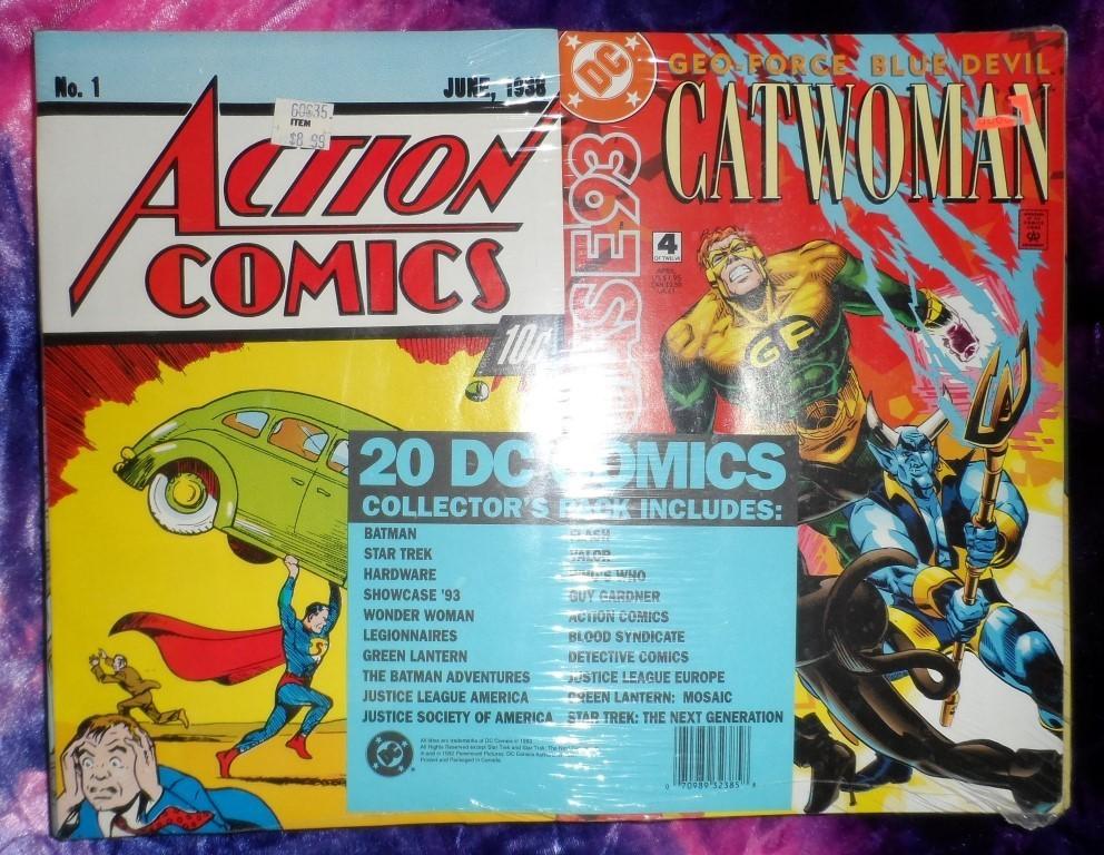 DC Comics Collector's Pack of 20 comics (April 1993)