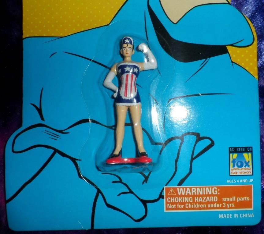 The Tick Diecast American Maid Figurine