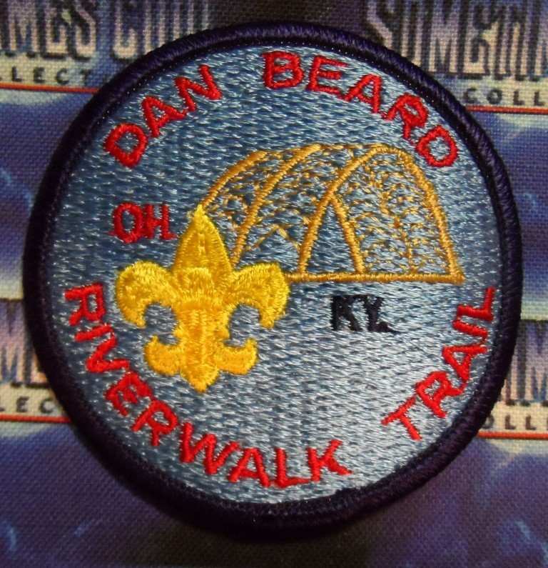 BSA Patch : Dan Beard Council Ohio/Kentucky Riverwalk Trail