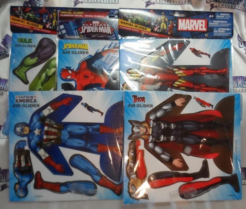 Marvel Comics Gliders (Set of 5)