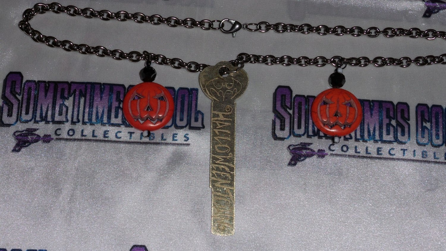 The Key to Halloweentown Necklace