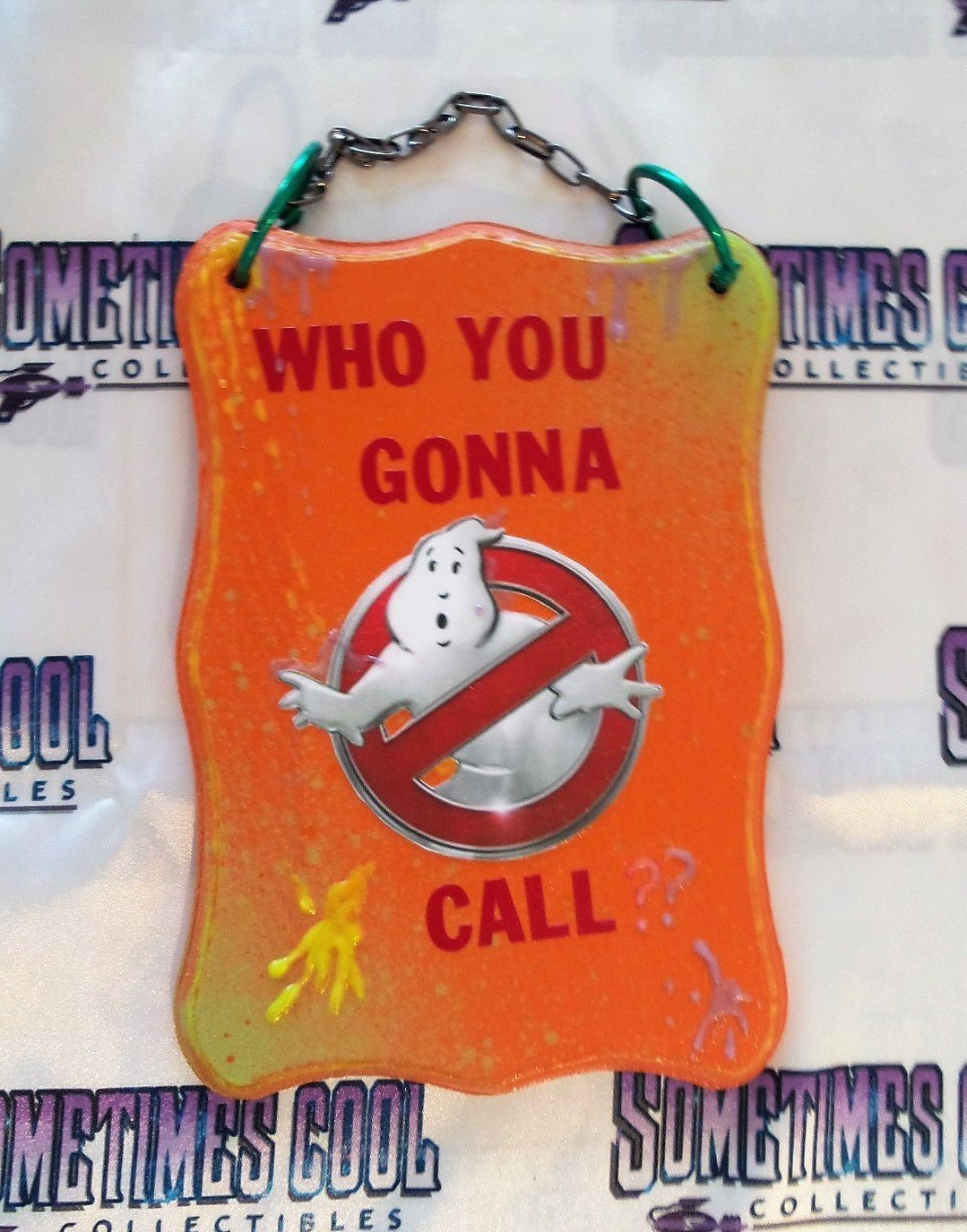 Ghostbusters Wooden Sign
