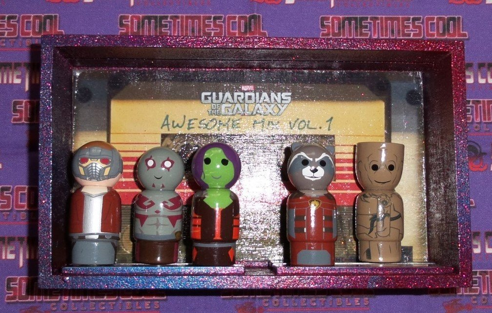 Guardians of the Galaxy Pin Mates Diorama