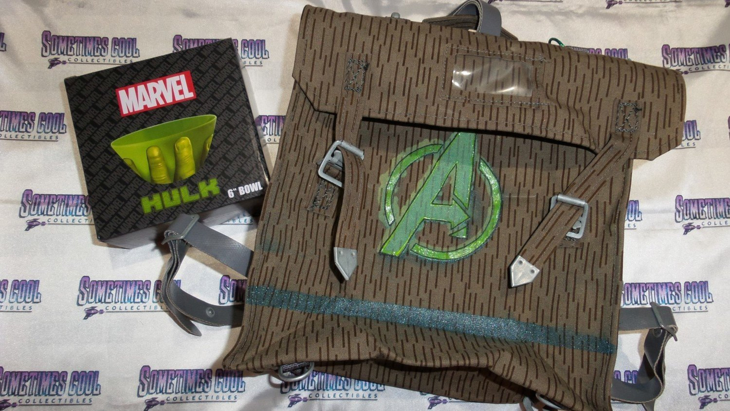 """The Hulk """"Bug Out"""" Musette Field Bag w/ Bowl"""