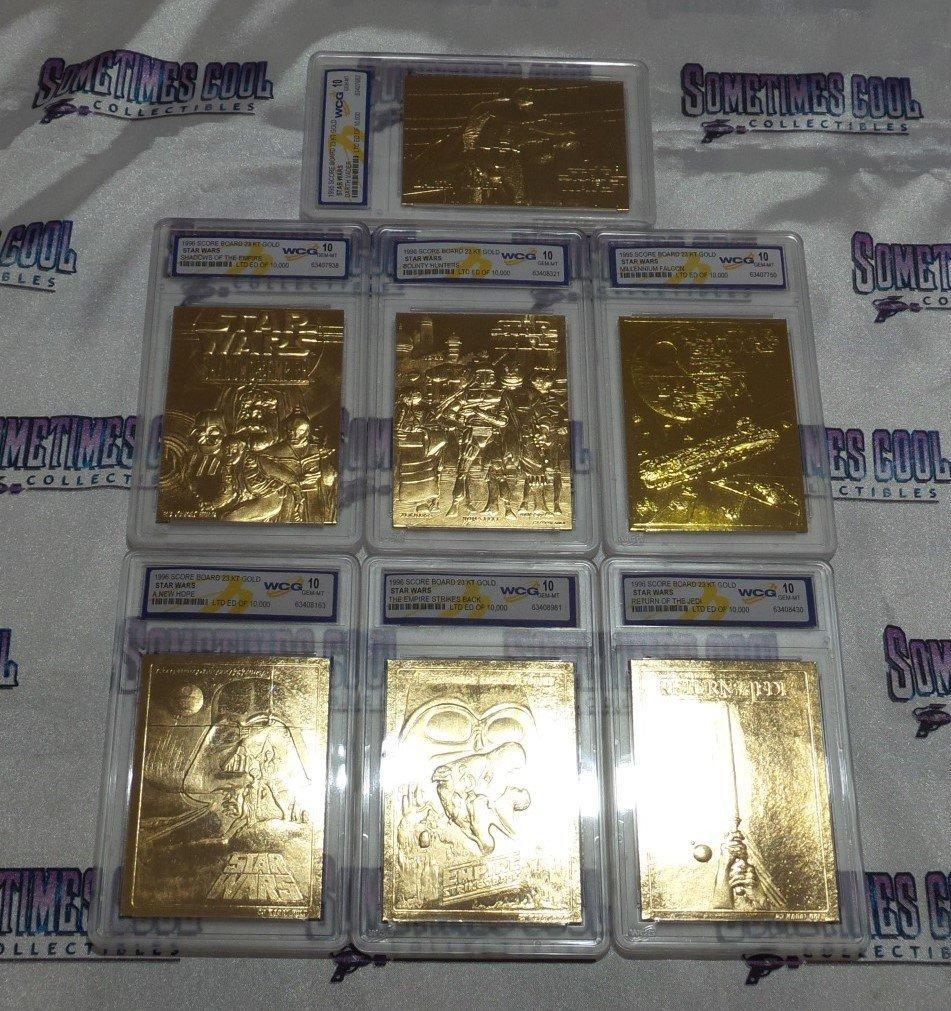 Star Wars Gold Trading Card Set