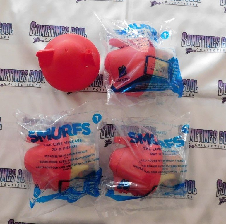 Promo Toys : Smurfs Movie Lot