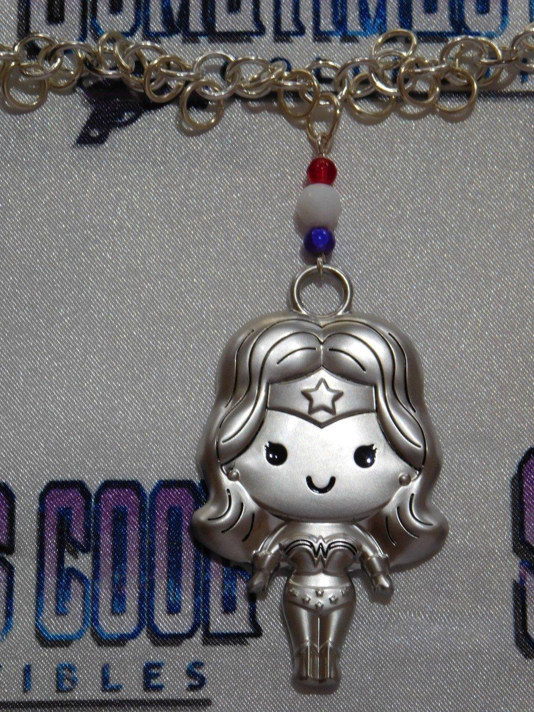 Wonder Woman Chibi Necklace