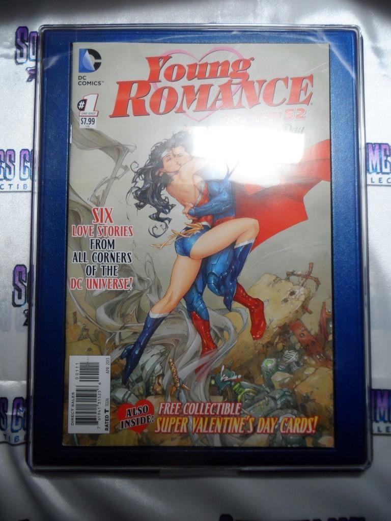 Customized Comic Frame : DC Comics Young Romance