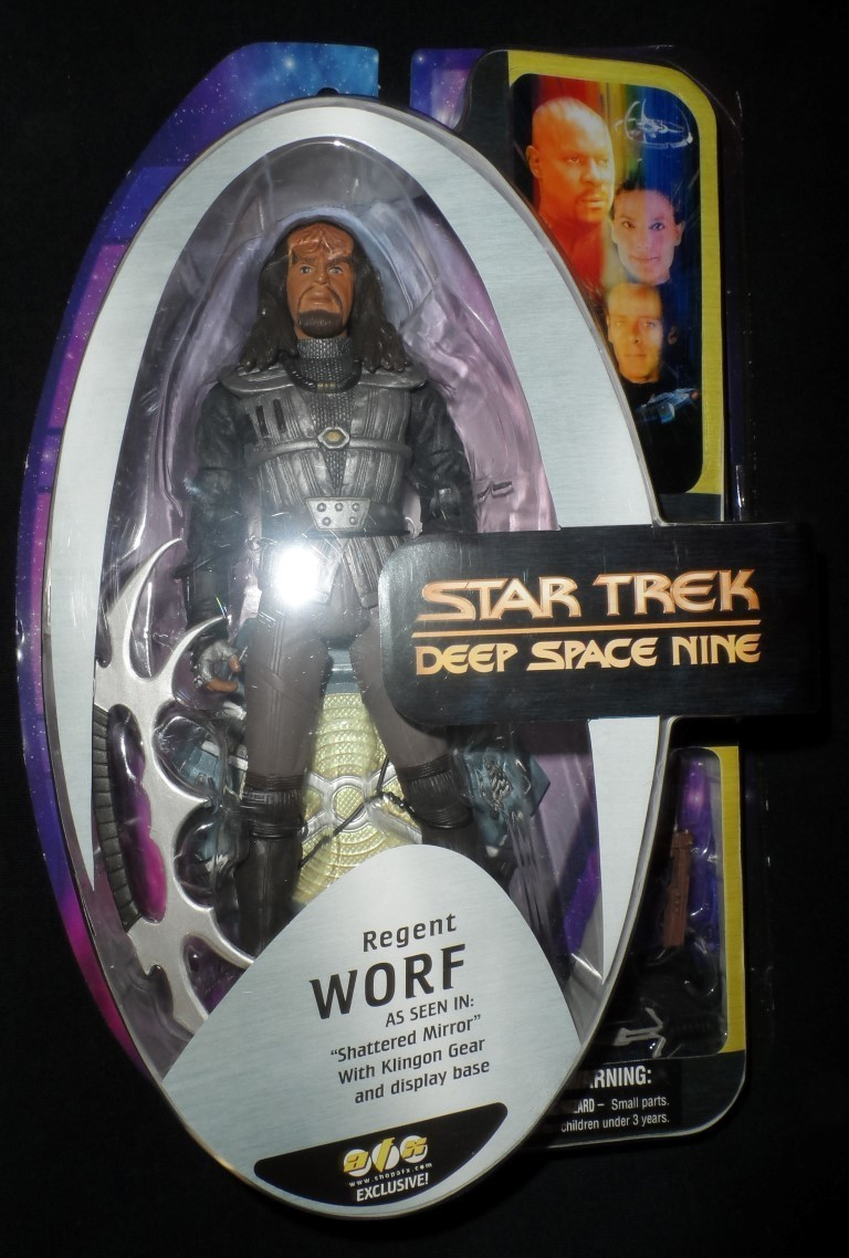 AFX Exclusive Deep Space Nine Regent Worf