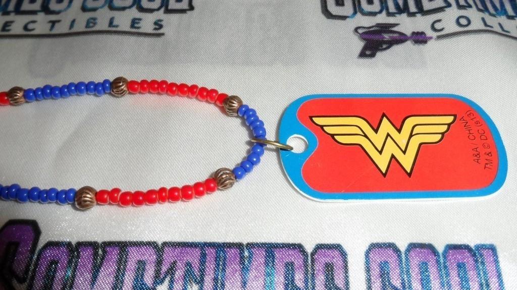 Wonder Woman Logo Dog Tag Necklace