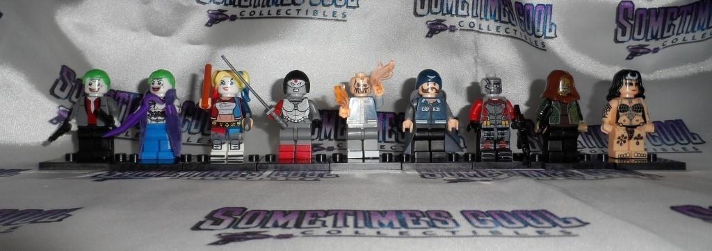 Mini Block Figures : the Suicide Squad