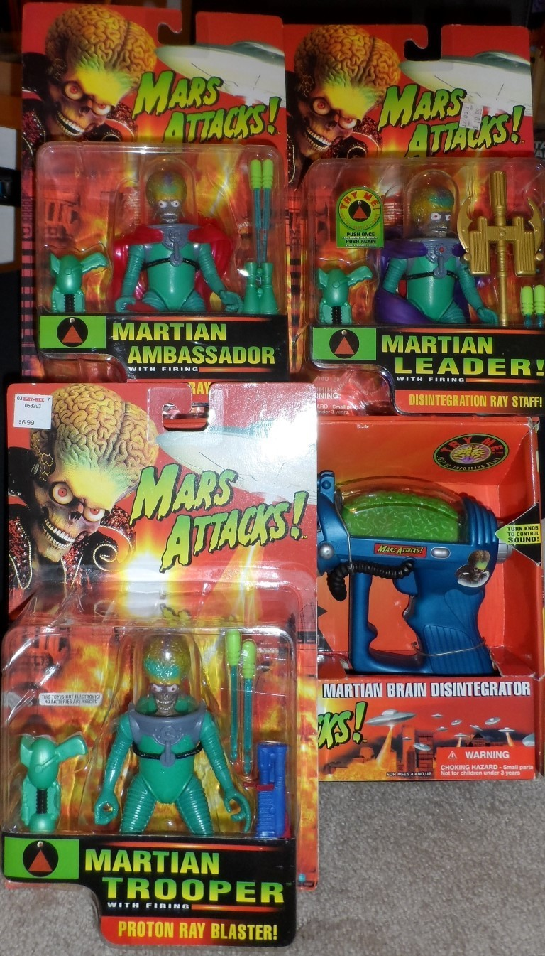 Mars Attacks! Collector Set!